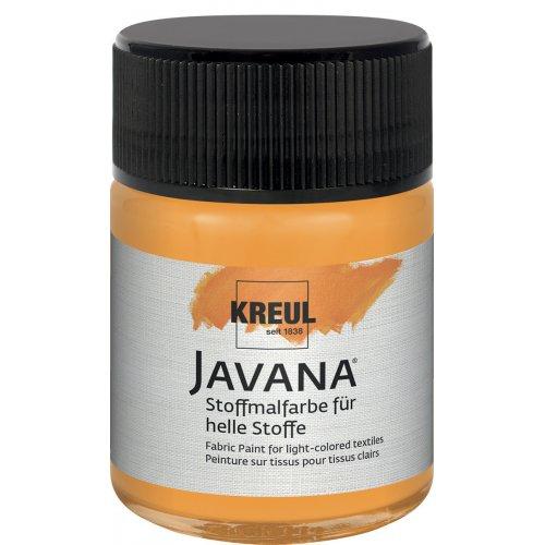 Barva na světlý textil JAVANA 50 ml fluorescenční oranžová