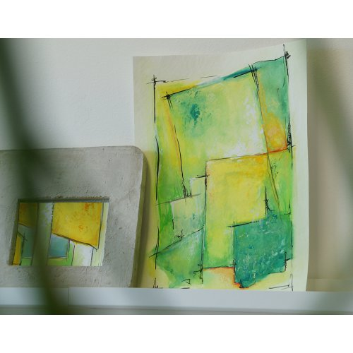 Sada Kvašové barvy TEMPERA SOLO GOYA 20 ml 12 barev v dřevěné kazetě - 992_SOLO GOYA_TEMPERA Gouache_Ambiente_1.jpg