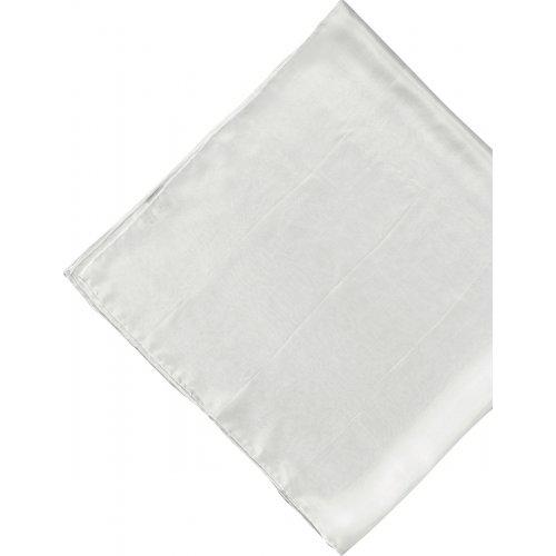 Šátek hedvábí bílé 90 x 90 cm