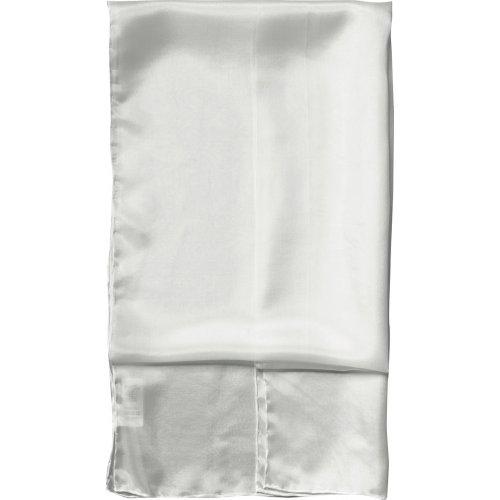 Dlouhý šál hedvábí bílé180 x 45 cm