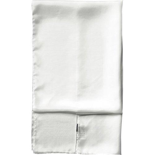 Dlouhý šál hedvábí bílé 180 x 45 cm