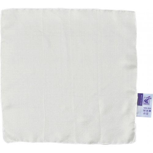 Šátek hedvábí bílé 28 x 28 cm