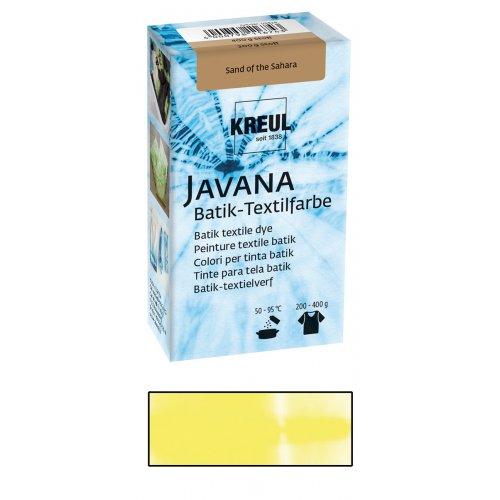 Batikovací barva JAVANA 70 g neonově žlutá