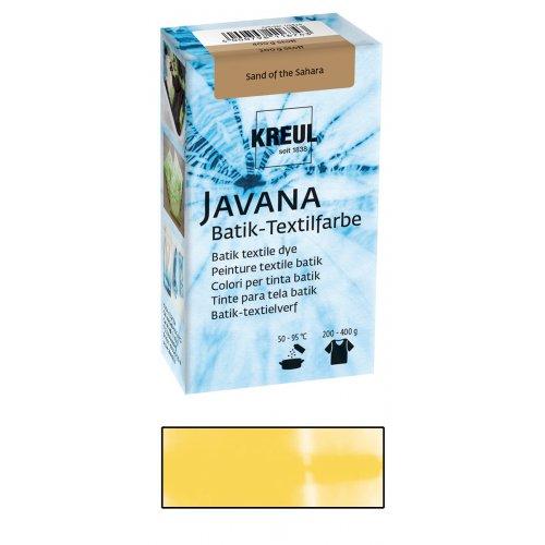 Batikovací barva JAVANA 70 g slunečná žlutá