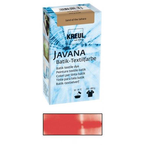 Batikovací barva JAVANA 70 g červená