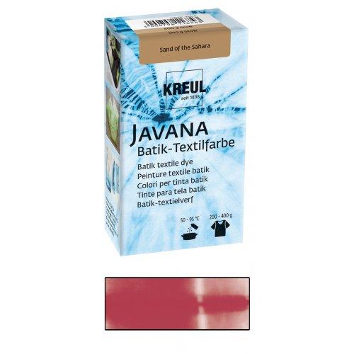 Batikovací barva JAVANA 70 g třešňově červená