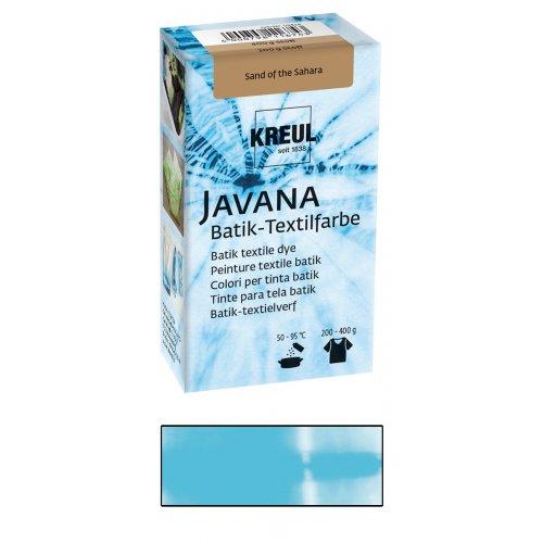 Batikovací barva JAVANA 70 g světle modrá