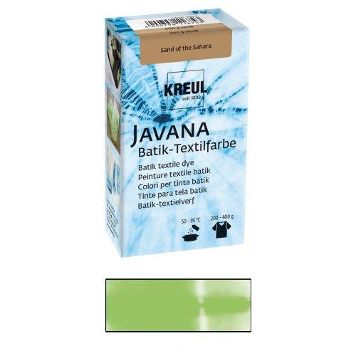 Batikovací barva JAVANA 70 g světle zelená