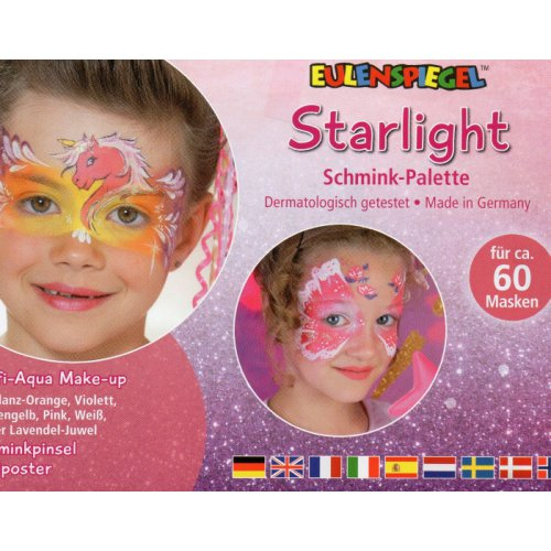 Starlight - Make-up paleta s instrukcemi