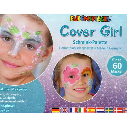 Cover Girl - Make-up paleta s instrukcemi