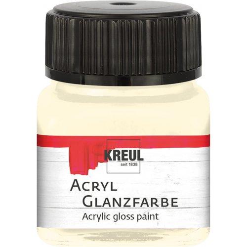 Akrylová barva lesklá KREUL 20 ml světle béžová