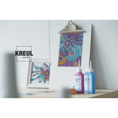 "Sada barvy na sklo pro dospělé - antistresové ,,Feel the flow"" - 22700_KREUL_FeelTheFlow_image2.jpg"