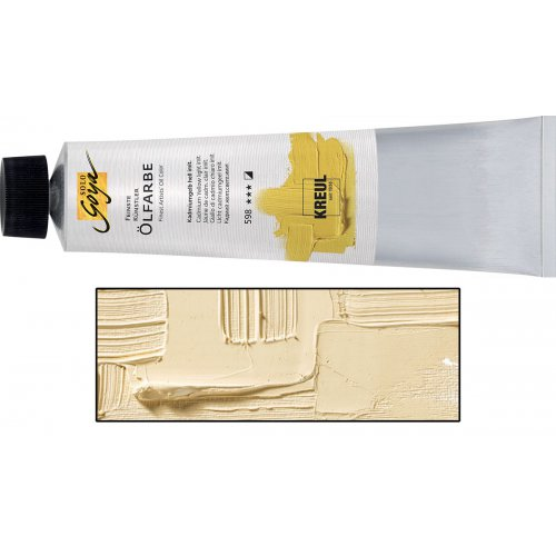 Olejová barva SOLO GOYA Finest Artists'  255 ml bledě žlutá okr