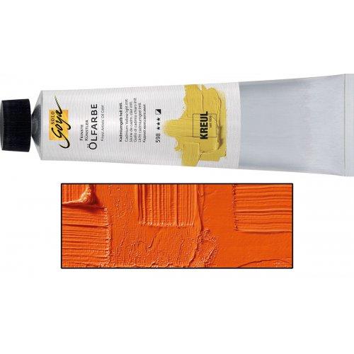 Olejová barva SOLO GOYA Finest Artists'  255 ml kadmium oranžová