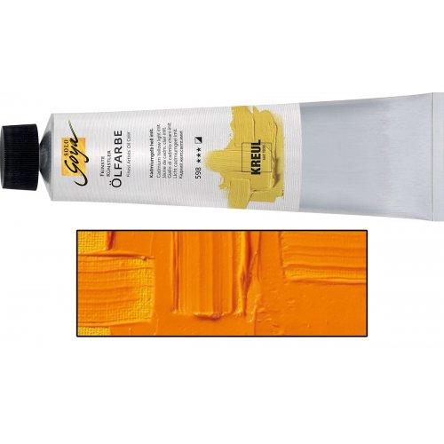 Olejová barva SOLO GOYA Finest Artists'  255 ml indiánská žlutá