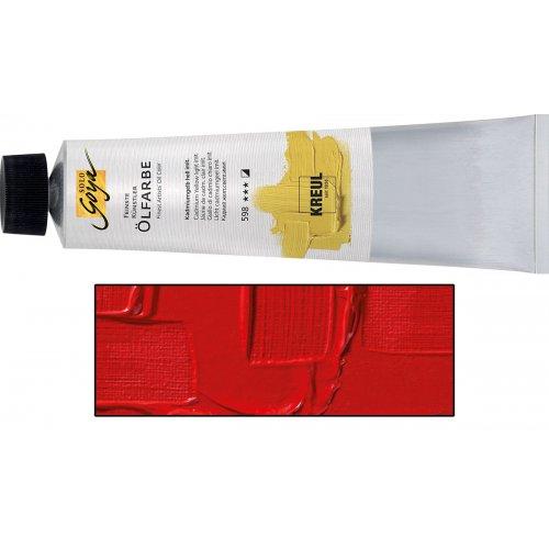 Olejová barva SOLO GOYA Finest Artists'  255 ml světle červená
