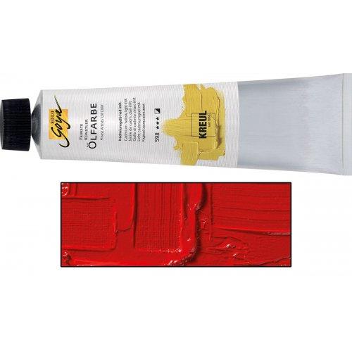 Olejová barva SOLO GOYA Finest Artists'  255 ml kadmium tmavě červená