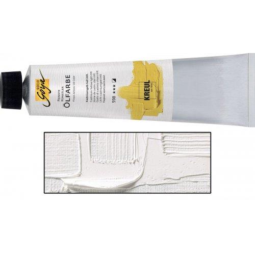 Olejová barva SOLO GOYA Finest Artists'  255 ml titanová bílá