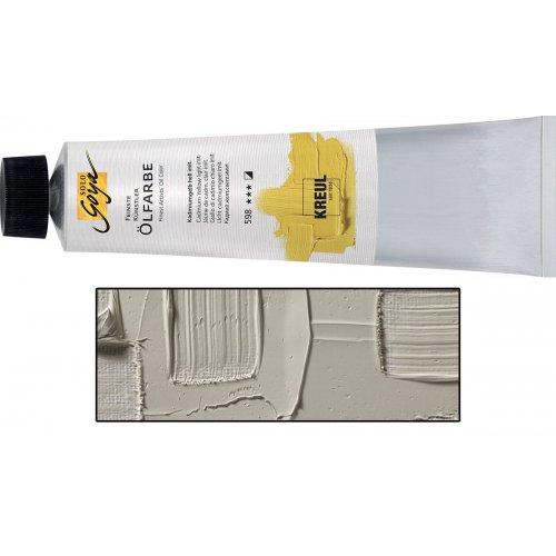 Olejová barva SOLO GOYA Finest Artists'  255 ml teplá šedá