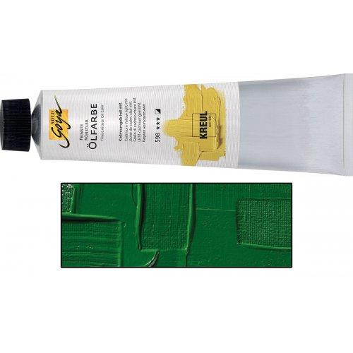 Olejová barva SOLO GOYA Finest Artists'  255 ml matně chromová zelená