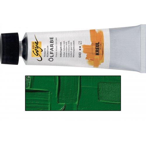 Olejová barva SOLO GOYA matná chrom zelená v tubě 55 ml