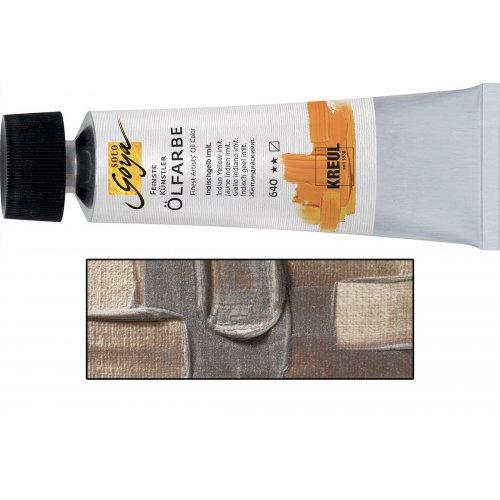 Olejová barva SOLO GOYA stříbrná v tubě 55 ml