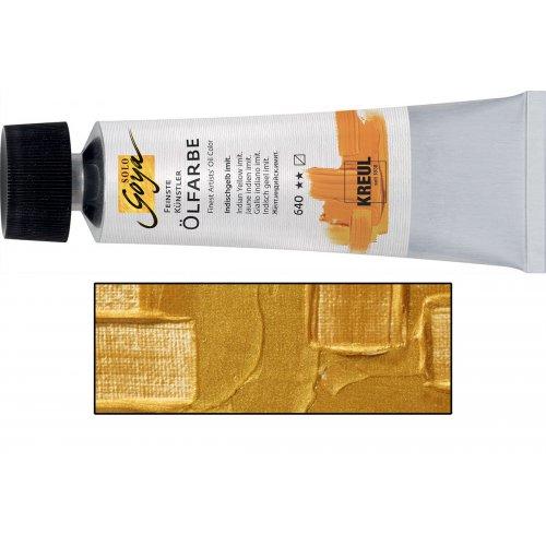 Olejová barva SOLO GOYA zlatá v tubě 55 ml