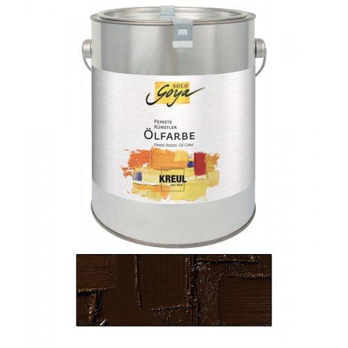 Olejová barva SOLO GOYA raw umber 2500 ml