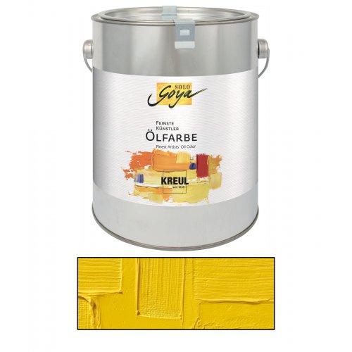 Olejová barva SOLO GOYA kadmium žlutá světlá 2500 ml