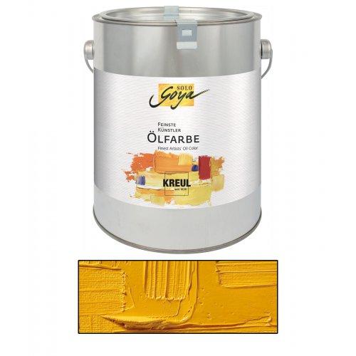 Olejová barva SOLO GOYA kadmium žlutá tmavá 2500 ml