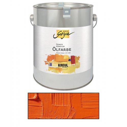 Olejová barva SOLO GOYA kadmium oranžová 2500 ml