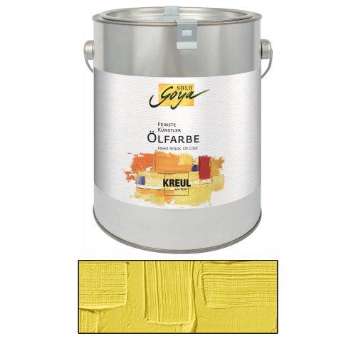 Olejová barva SOLO GOYA kadmium žlutá citron 2500 ml