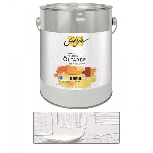 Olejová barva SOLO GOYA titanová bílá 2500 ml