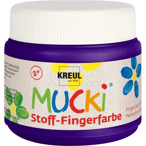 Prstová barva na textil MUCKI 150 ml fialová