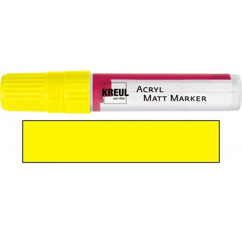 Akrylový marker matný KREUL XXL žlutý