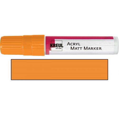 Akrylový marker matný KREUL XXL oranžový