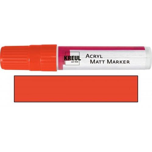 Akrylový marker matný KREUL XXL červený