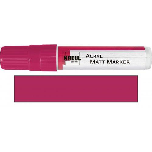 Akrylový marker matný KREUL XXL magenta