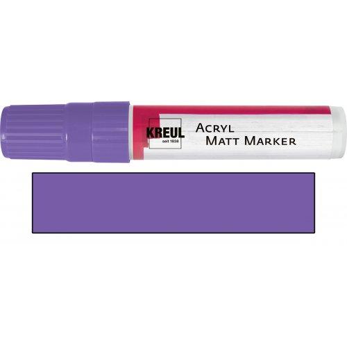 Akrylový marker matný KREUL XXL lila
