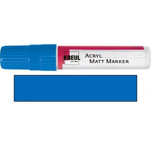 Akrylový marker matný KREUL XXL modrý