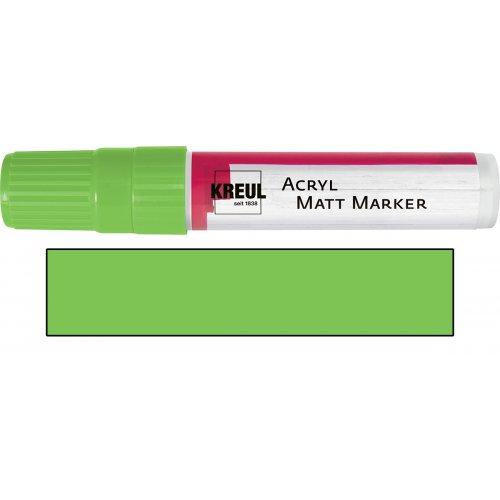 Akrylový marker matný KREUL XXL zelený