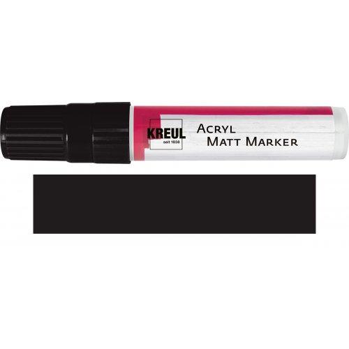 Akrylový marker matný KREUL XXL černý