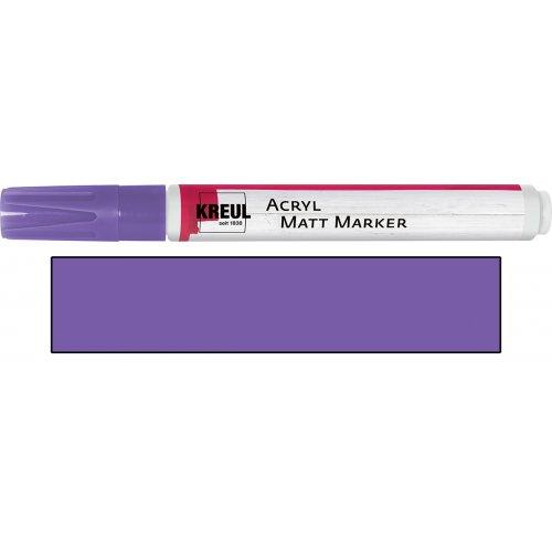 Akrylový marker matný KREUL medium lila