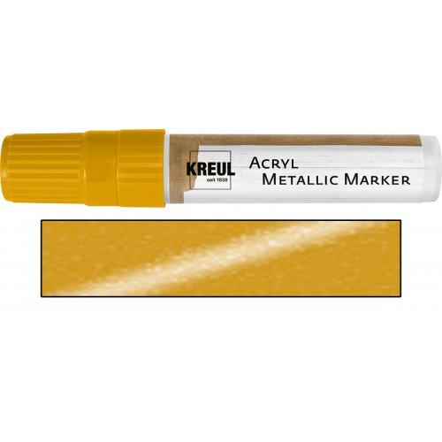 Akrylový marker metalický KREUL XXL zlatý