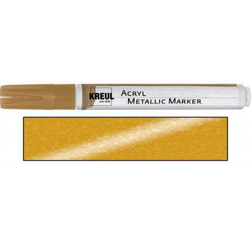 Akrylový marker metalický KREUL medium zlatý