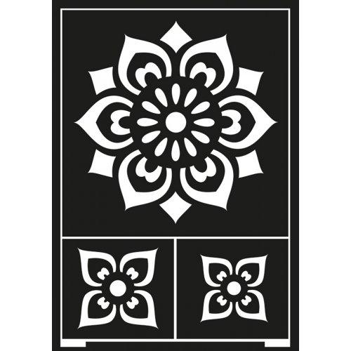 Samolepící šablona A5 Ornamenty