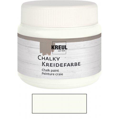 Křídová barva CHALKY PAINT 150 ml bílá bavlna