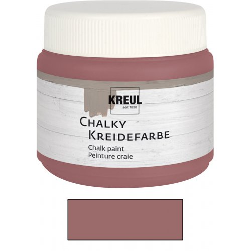 Křídová barva CHALKY PAINT 150 ml růžová marsala