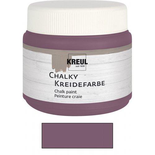 Křídová barva CHALKY PAINT 150 ml purpurová čistá