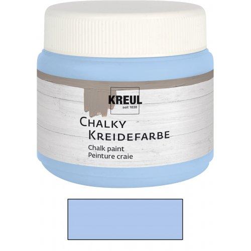 Křídová barva CHALKY PAINT 150 ml klasická modrá